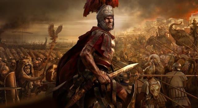 historia Pytanie-Ciekawostka: Co zrobiłby rzymski żołnierz ze swoim sagumem?
