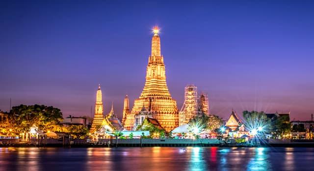 Geografia Pytanie-Ciekawostka: Jakie miasto jest stolicą Tajlandii?
