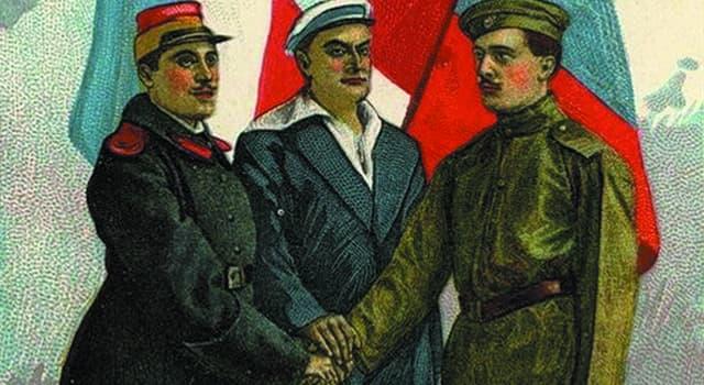 Історія Запитання-цікавинка: Як називався військово-політичний блок Росії, Великобританії і Франції, що склався в 1904-1907 рр?