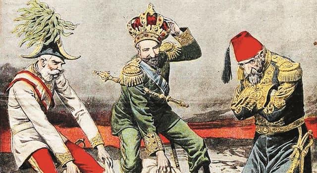 """Історія Запитання-цікавинка: Яка країна не входила у військово-політичний блок """"Троїстий союз""""?"""