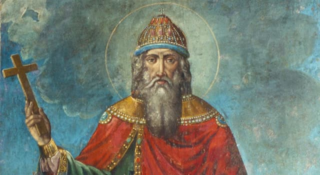 Історія Запитання-цікавинка: Яке християнське ім'я отримав у хрещенні київський князь Володимир Святославич?