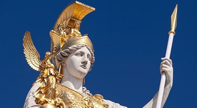 Культура Запитання-цікавинка: Яке прізвисько було у давньогрецької богині мудрості, військової стратегії і тактики Афіни?