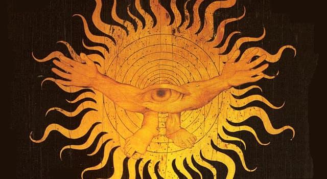 Kultur Wissensfrage: Wer wurde als eine der ersten Gottheiten aus dem Chaos geboren?