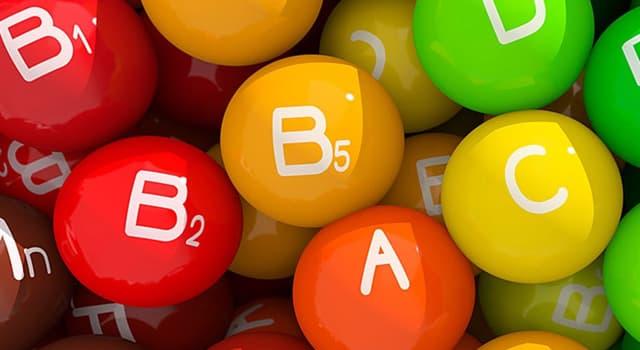 Наука Запитання-цікавинка: Рибофлавін - це якийсь вітамін?