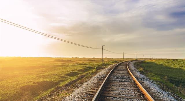 Geographie Wissensfrage: Wo befindet sich die längste Eisenbahngerade der Welt?