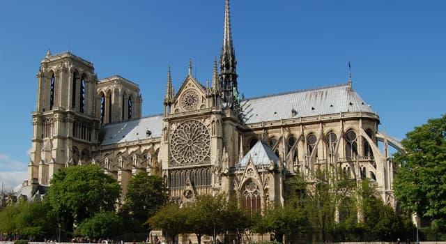 Культура Запитання-цікавинка: В якому році згорів Notre-Dame de Paris?