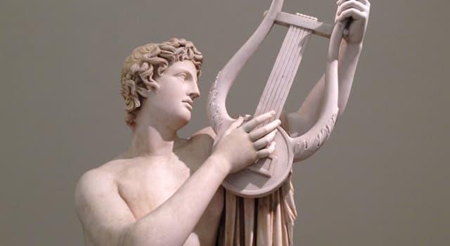 Kultur Wissensfrage: Wer, laut griechischer Mythologie, schenkte Apollon eine Kithara?