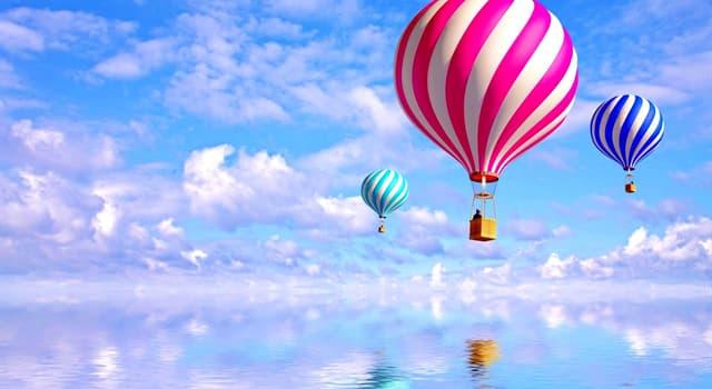 Geschichte Wissensfrage: Wer waren die ersten Passagiere des Heißluftballons der Gebrüder Montgolfier?