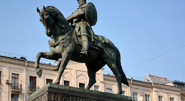 Geschichte Wissensfrage: Wessen Sohn war Großfürst der Kiewer Rus und Gründer von Moskau Juri Dolgoruki?