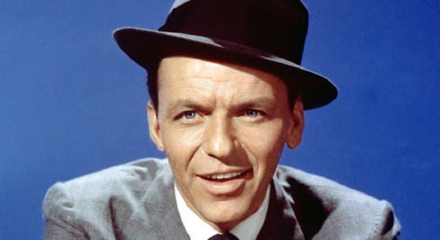 Gesellschaft Wissensfrage: Wie hieß die letzte Frau Frau von Frank Sinatra?