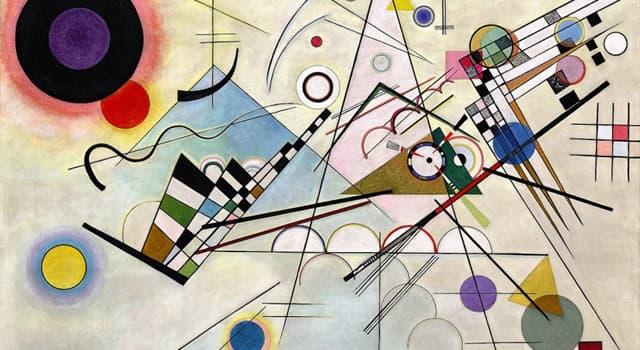 Kultura Pytanie-Ciekawostka: Który urodzony w Rosji francuski malarz jest znany jako pionier sztuki abstrakcyjnej?