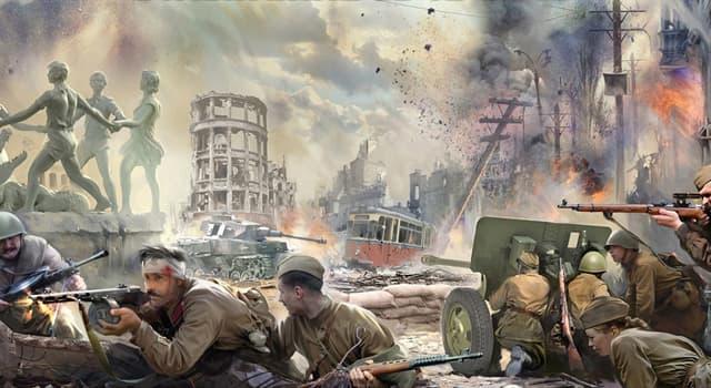 Geschichte Wissensfrage: Wie hieß ein großer Angriff der Roten Armee im Zweiten Weltkrieg zur Freikämpfung von Weißrussland?