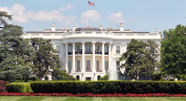 Geschichte Wissensfrage: Wie viele Jahre dauerte der Bau des Weißen Hauses?