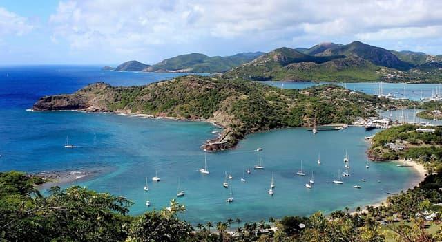 Geografia Pytanie-Ciekawostka: Antigua i Barbuda znajdują się w jakiej części wód?