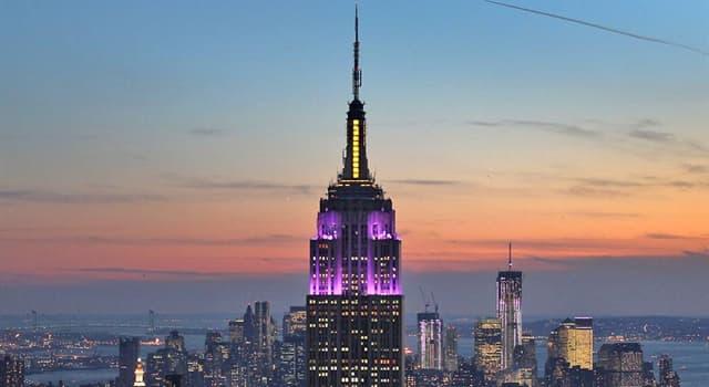 społeczeństwo Pytanie-Ciekawostka: Ile pięter ma budynek Empire State?