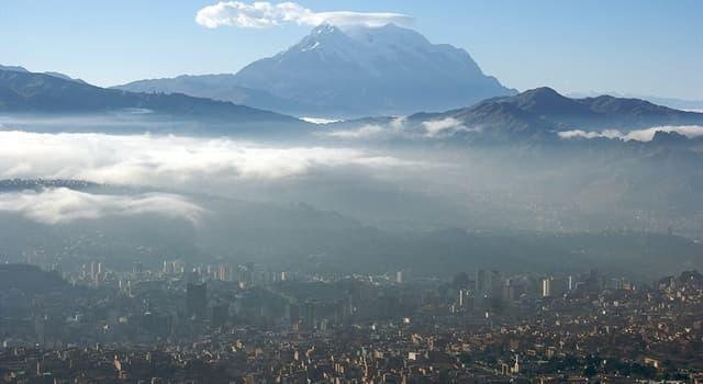 Geografia Pytanie-Ciekawostka: Jakiego kraju stolicą jest La Paz?