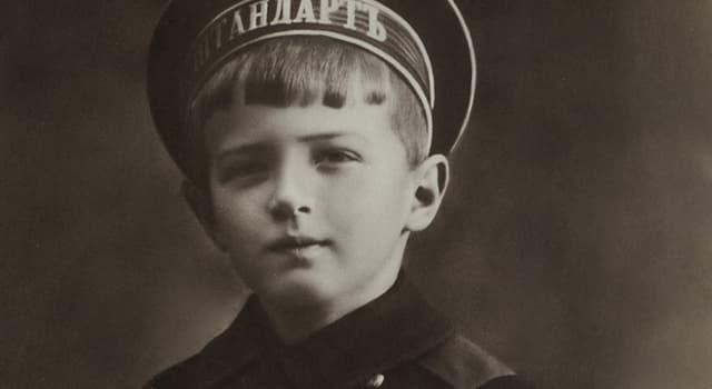 Історія Запитання-цікавинка: Яке захворювання було у сина Миколи II Олексія?