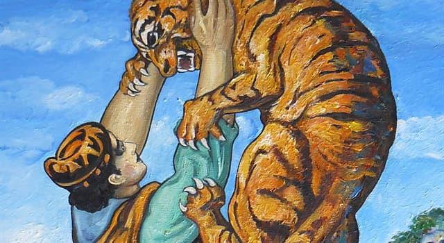 Культура Запитання-цікавинка: Хто вважається автором хрестоматійною епічної поеми «Витязь у тигровій шкурі»?