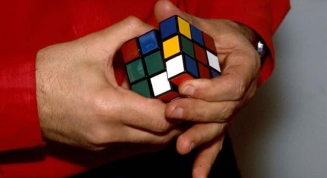 społeczeństwo Pytanie-Ciekawostka: Kto stworzył Kostkę Rubika?