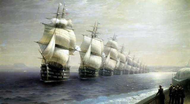 Культура Запитання-цікавинка: Хто є автором картини «Огляд Чорноморського флоту в 1849 році»?