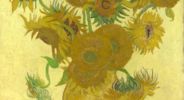 Культура Запитання-цікавинка: Хто є автором знаменитої картини «Соняшники»?