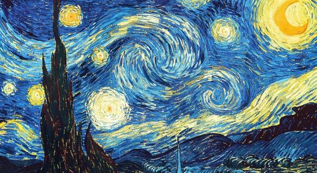 Культура Запитання-цікавинка: Хто є автором знаменитої картини «Зоряна ніч»?
