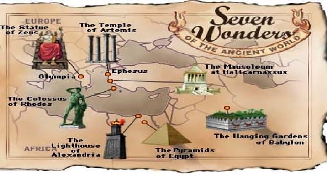 Kultura Pytanie-Ciekawostka: Który z siedmiu cudów starożytnego świata jest najstarszy?