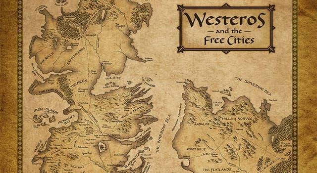 """Filmy Pytanie-Ciekawostka: W dramacie fantasy """"Gra o tron"""", ile królestw jest w Westeros?"""