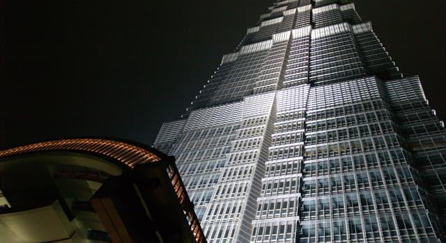 Geografia Pytanie-Ciekawostka: W którym mieście znajduje się słynna wieża Jin Mao?