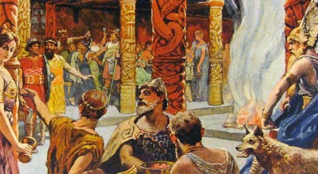Kultura Pytanie-Ciekawostka: W mitologii nordyckiej, jak nazywa się wielka sala, w której po śmierci idą upadli wojownicy?
