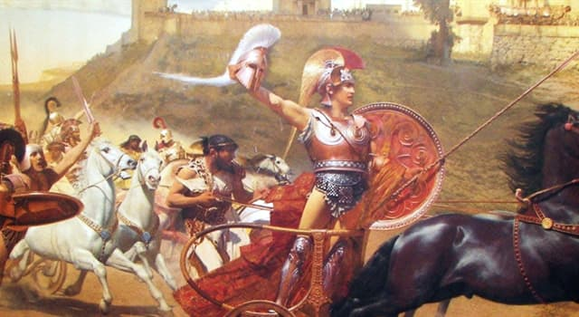 Kultura Pytanie-Ciekawostka: Według legendy, jak umarł Achilles?
