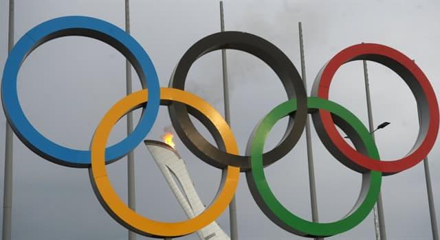 Kultur Wissensfrage: Welche Farbe der Olympischen Ringe steht für Europa?