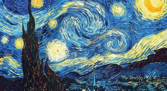 """Kultur Wissensfrage: Welchem Künstler gehört das bekannte Gemälde """"Sternennacht""""?"""