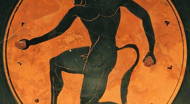 Kultur Wissensfrage: Wer ist ein Wesen mit menschlichem Körper und Stierkopf in der griechischen Mythologie?