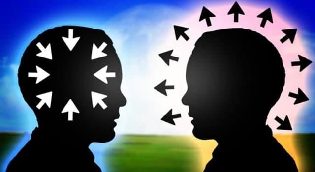 Wissenschaft Wissensfrage: Wie heißt eine Persönlichkeitseigenschaft, die sich durch eine nach außen gewandte Haltung zeichnet?