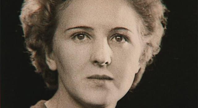 Geschichte Wissensfrage: Wie hieß die Ehefrau von Adolf Hitler?