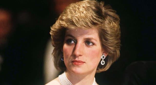 Geschichte Wissensfrage: Wie lautet der Mädchenname von Diana, Princess of Wales?