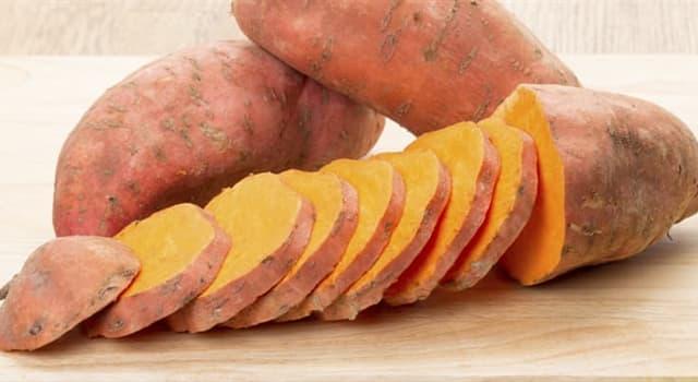 Kultur Wissensfrage: Wie nennt man auch Süßkartoffel?