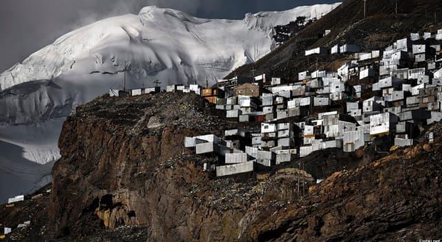 Geographie Wissensfrage: Wo liegt die höchstgelegene Stadt der Welt?