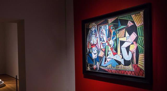 Культура Запитання-цікавинка: «Алжирські жінки» Пабло Пікассо - серія з скількох картин і малюнків?