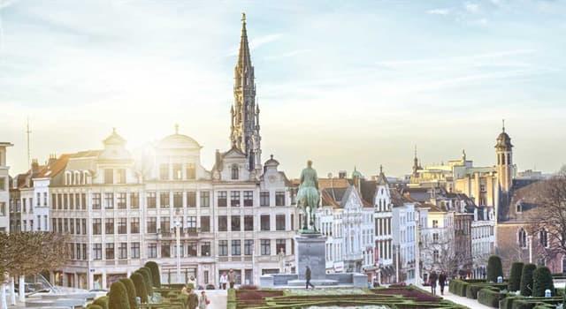 Geographie Wissensfrage: Brüssel ist die Hauptstadt von ...