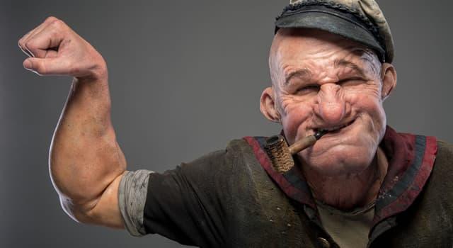 Filmy Pytanie-Ciekawostka: Co jest wytatuowane na ramieniu Popeye'a?