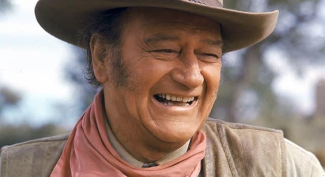 Filmy Pytanie-Ciekawostka: Co spowodowało śmierć gwiazdy filmowej, Johna Wayne'a?