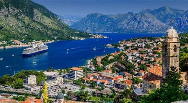 Geografia Pytanie-Ciekawostka: Gdzie leży Czarnogóra?