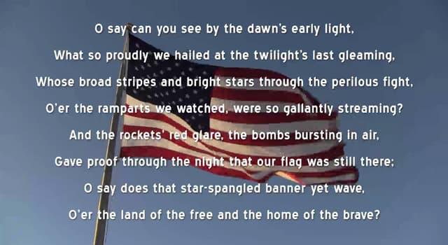 """społeczeństwo Pytanie-Ciekawostka: Hymn narodowy jakiego państwa zaczyna się od słów """"i naprzód marsz, ojczyzny dzieci""""?"""