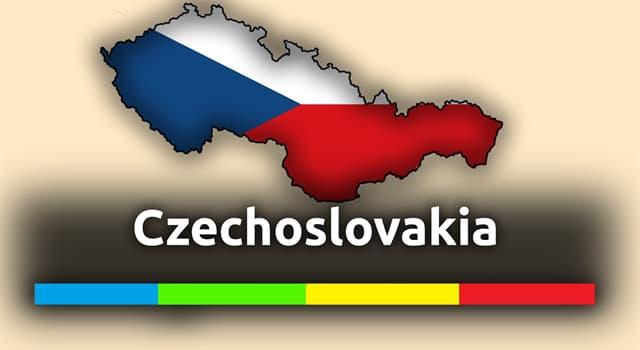 Geschichte Wissensfrage: In welchem Jahr wurde die ehemalige Tschechoslowakei gegründet?