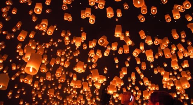 Kultur Wissensfrage: In welcher Religion ist Diwali ein bedeutendes mehrtägiges Fest?
