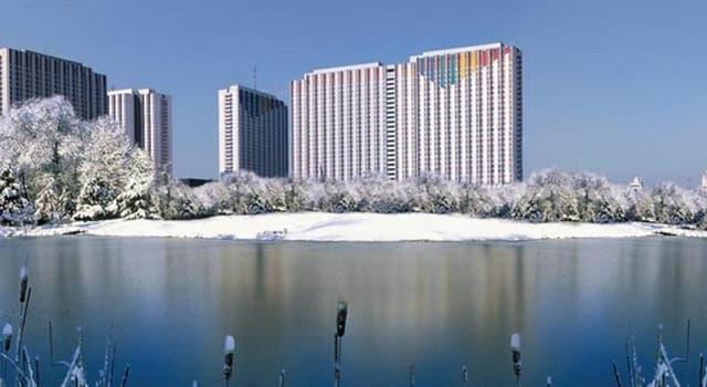Geographie Wissensfrage: In welcher Stadt befinden sich die größten Hotels der Welt?