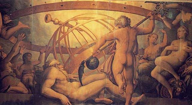 Kultura Pytanie-Ciekawostka: Jak nazywał się ojciec Zeusa, Kronos, znany Rzymianom?