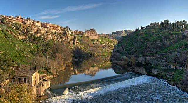 Geografia Pytanie-Ciekawostka: Jaka stolica wychodzi na rzekę Tag?